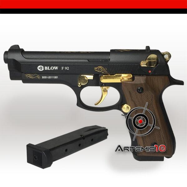 Blow F92 negro dorado